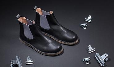 Pour les chaussures en cuir lisse